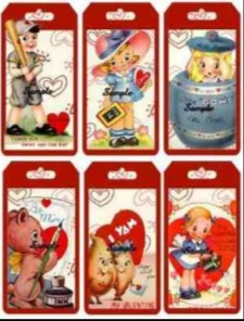 Sickly Sweet Sixties' Valentine's Day Cards