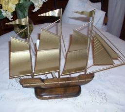 Kitsch Ship Shaped Lamps