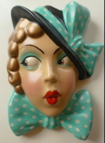 Elegant & Exotic Chalkware Girls