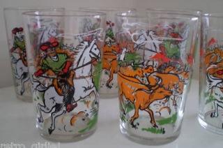 Yee-haa! Vintage Cowboy Glassware
