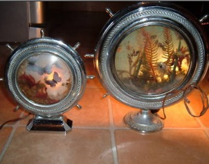 Captain's Wheel Souvenir Lamp Bases