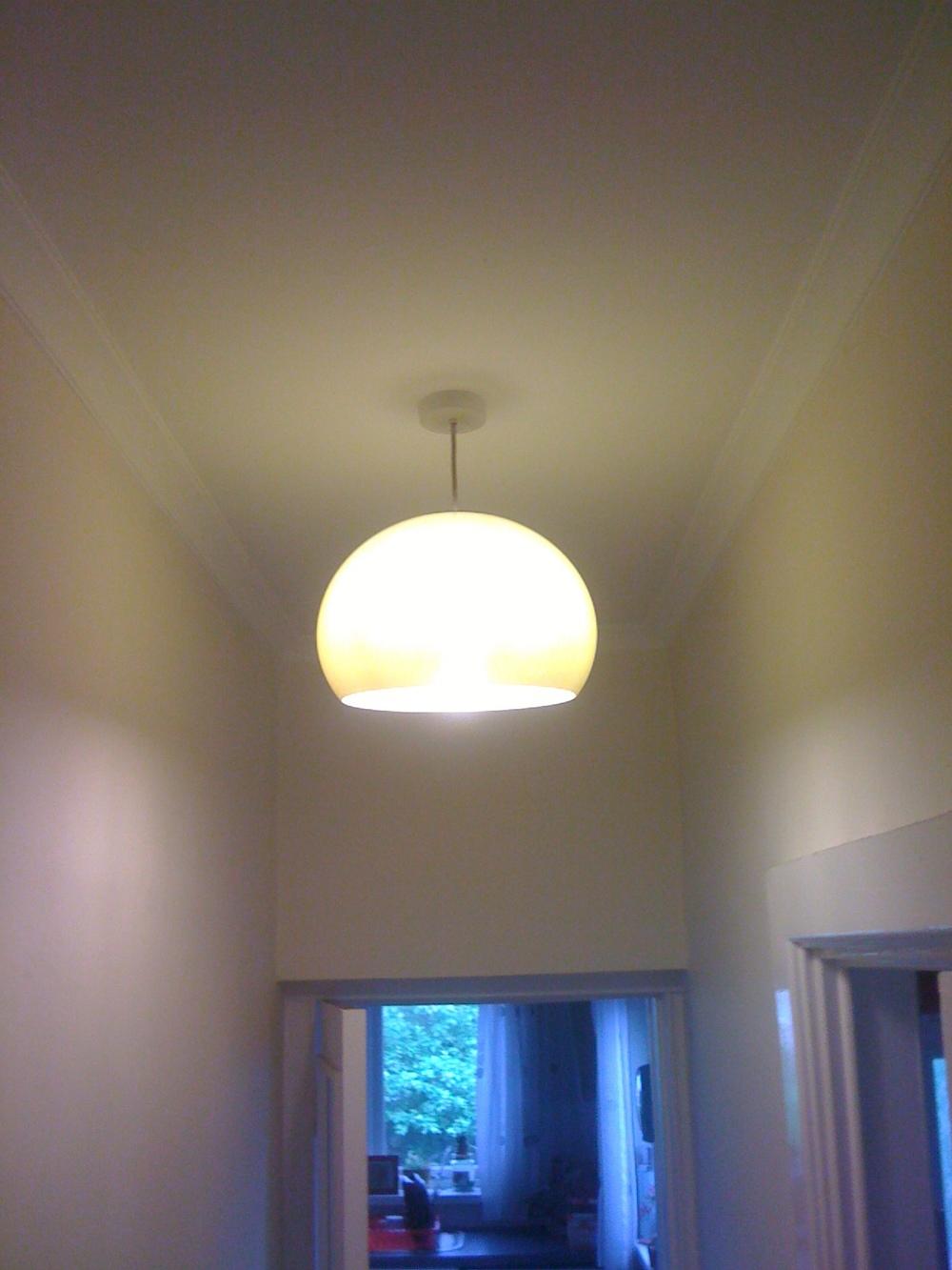 Buttercup Sixties' Style Globe Lamp