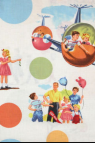 Michael Miller's Reproduction Retro Illustrated Fabrics