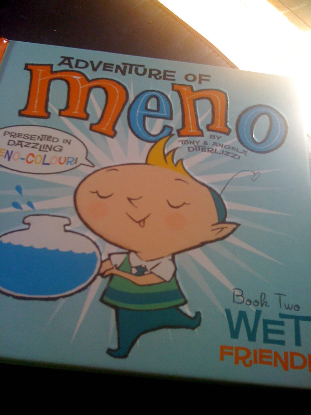 Adventure of Meno, Bizarre Faux Engrish/Atomic Era Stylised Children's Book