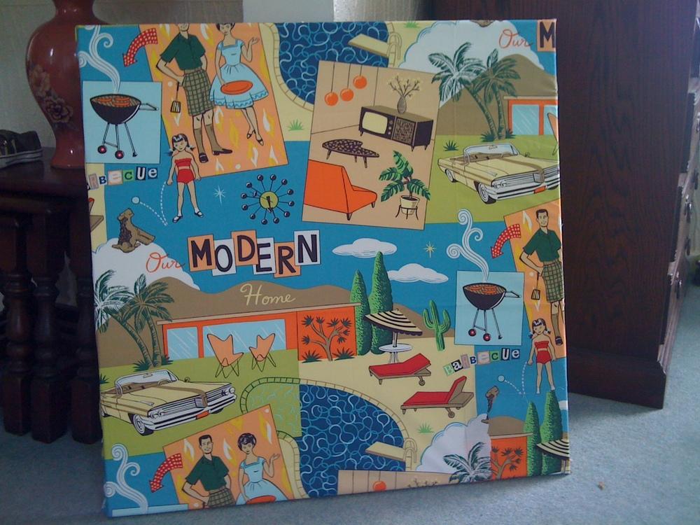 Michael Miller Modern Family Canvas