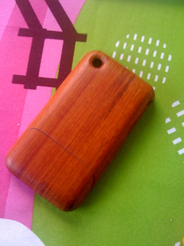 Real Wooden iPhone Case