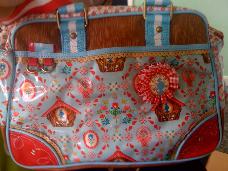 Cuckoo Clock Print Bag from Pip Studio