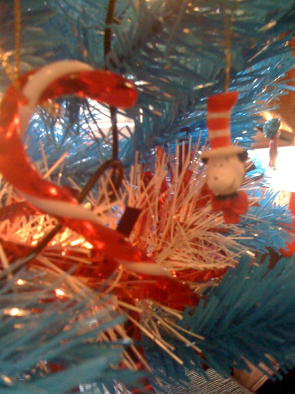 Dr Seuss Cat in the Hat Christmas Tree