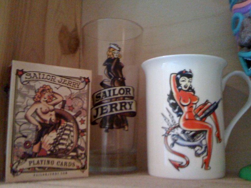 More Sailor Jerry Souvenirs