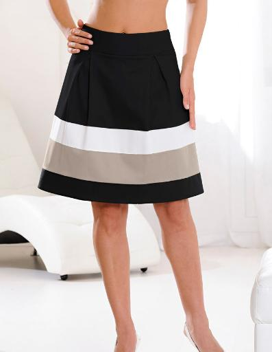 Block Stripe Skirt £27.99