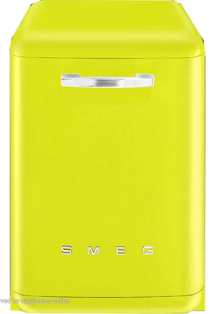 Smeg Zingy Lemon Dishwasher, wow.