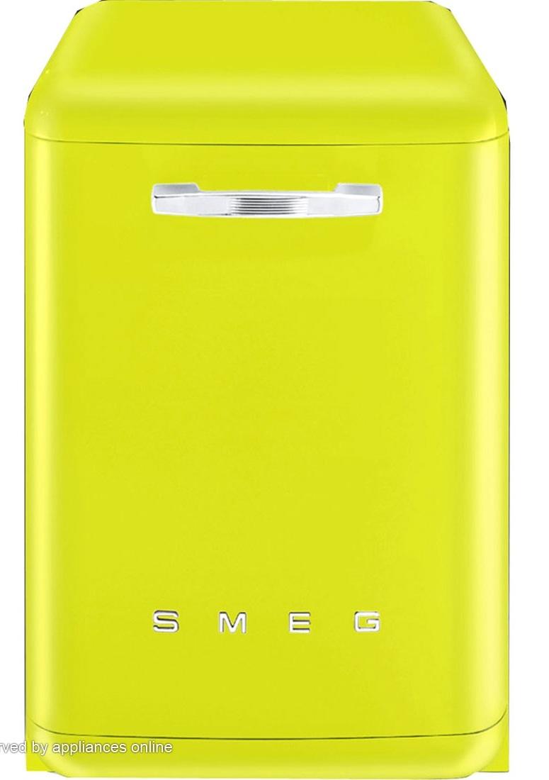 Smeg Zingy Lemon Dishwasher, wow.