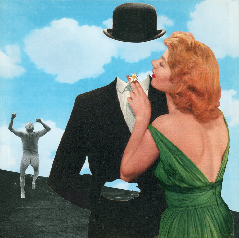 Magritte's Escape by Joe Webb