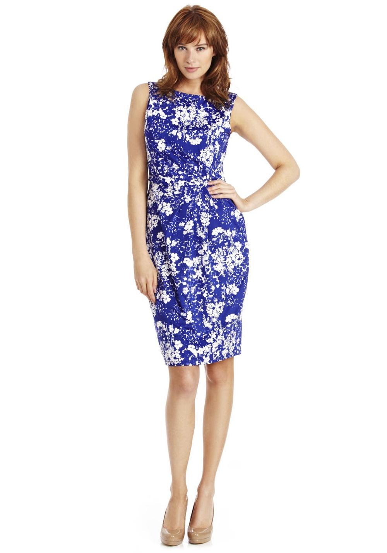 Floral print jersey dress £18