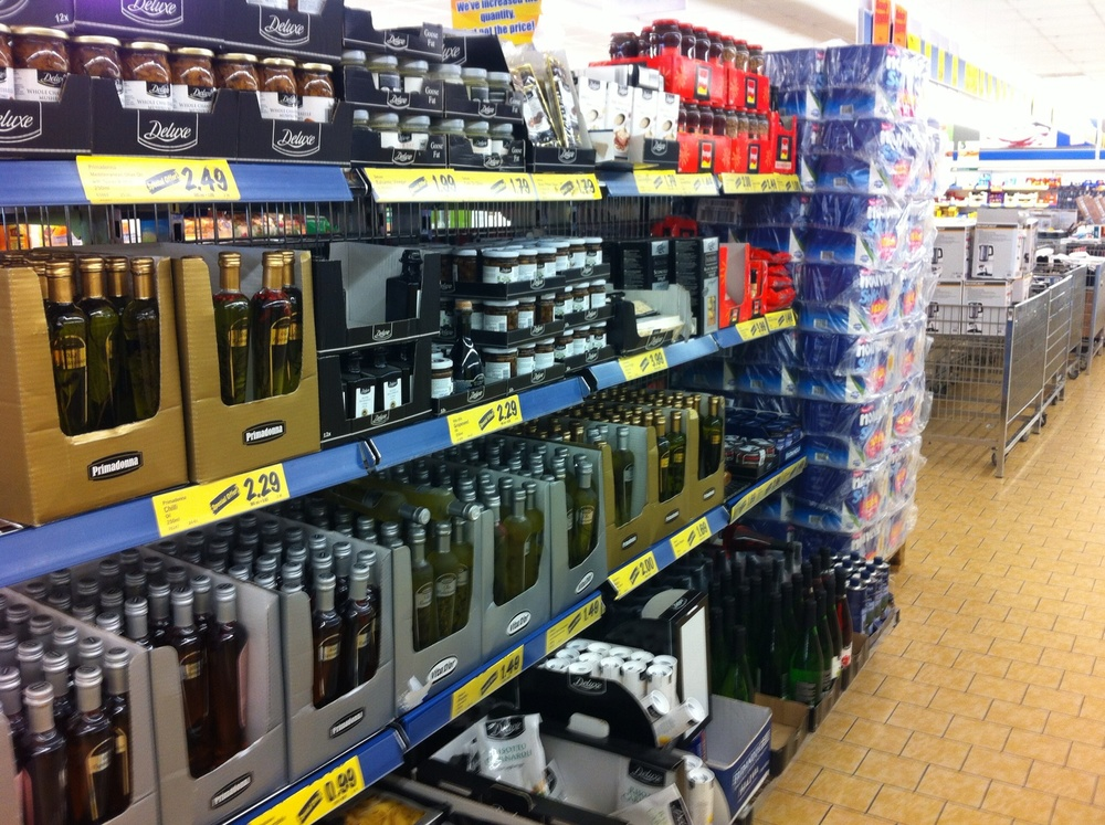 off licence section packed with deals