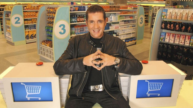 Supermarket Sweep, another US show, presented in the UK by a fresh faced Dale Winton