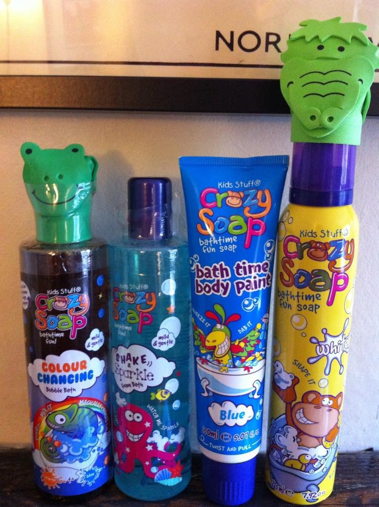 Colour Changing Bubble Bath Body Paint From Kids Stuff Crazy Soap