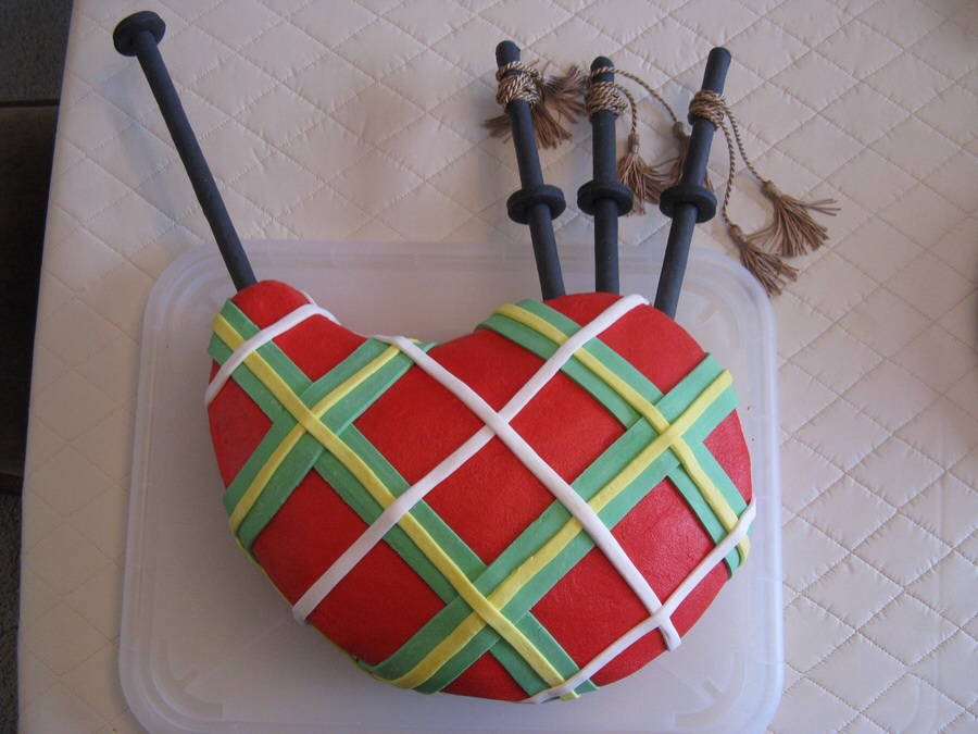 Scotland Themed Cakes For The Scots To Celebrate Or