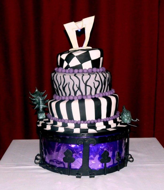 28 Beetlejuice Themed Birthday Amp Wedding Cakes The World