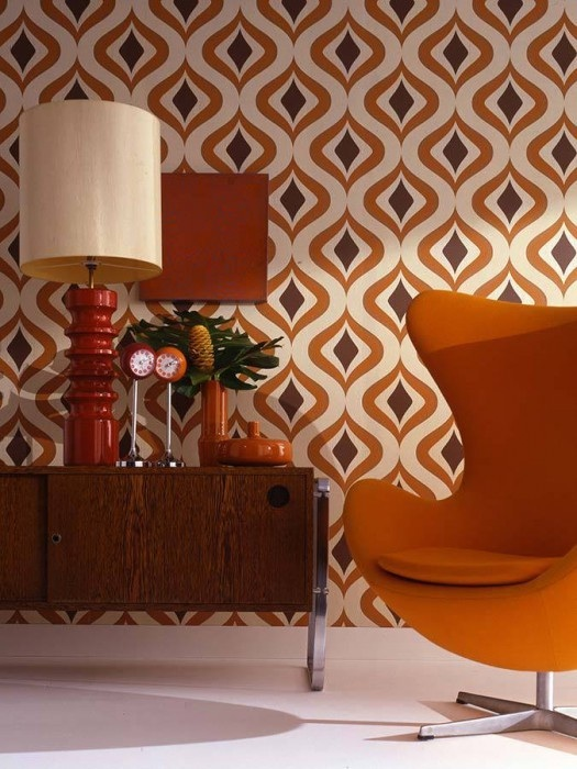 vintage 70s furniture. Replica Prints Of Genuine 70s\u0027 Designs, As Well Modern Takes On Retro Wallpaper Themes. The Store Is More Like A Gorgeous Pattern Museum Than Vintage 70s Furniture