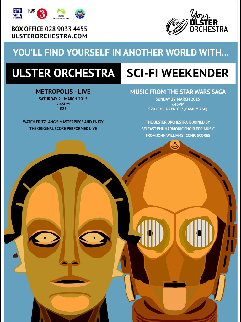 The Ulster Orchestra Sci-fi Weekender — The World of Kitsch