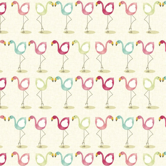 Flamingo table cloth