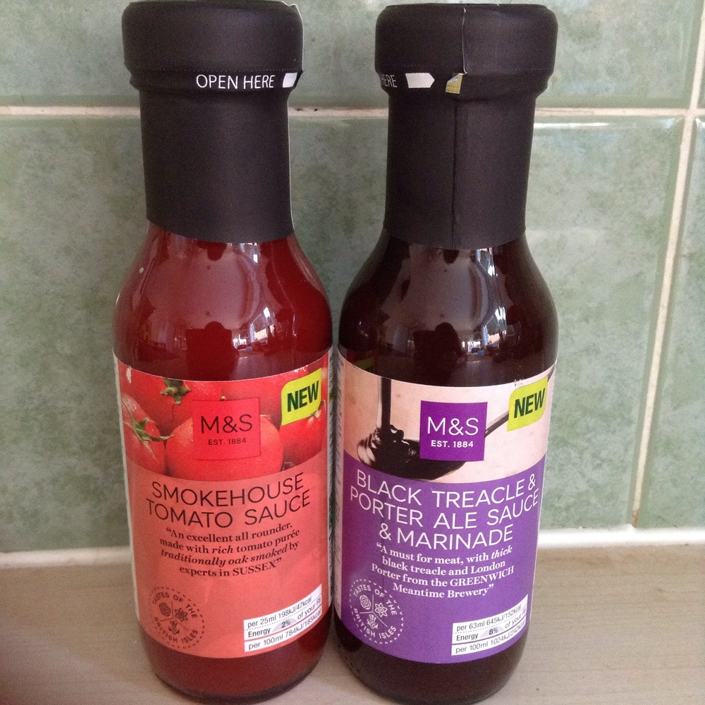 Smokehouse sauce £2 : Marinade £2
