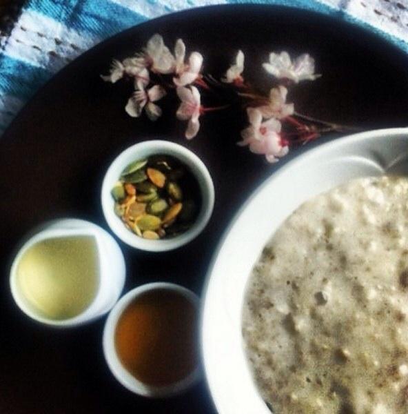 Porridge option- photo from Cairn Lodge website