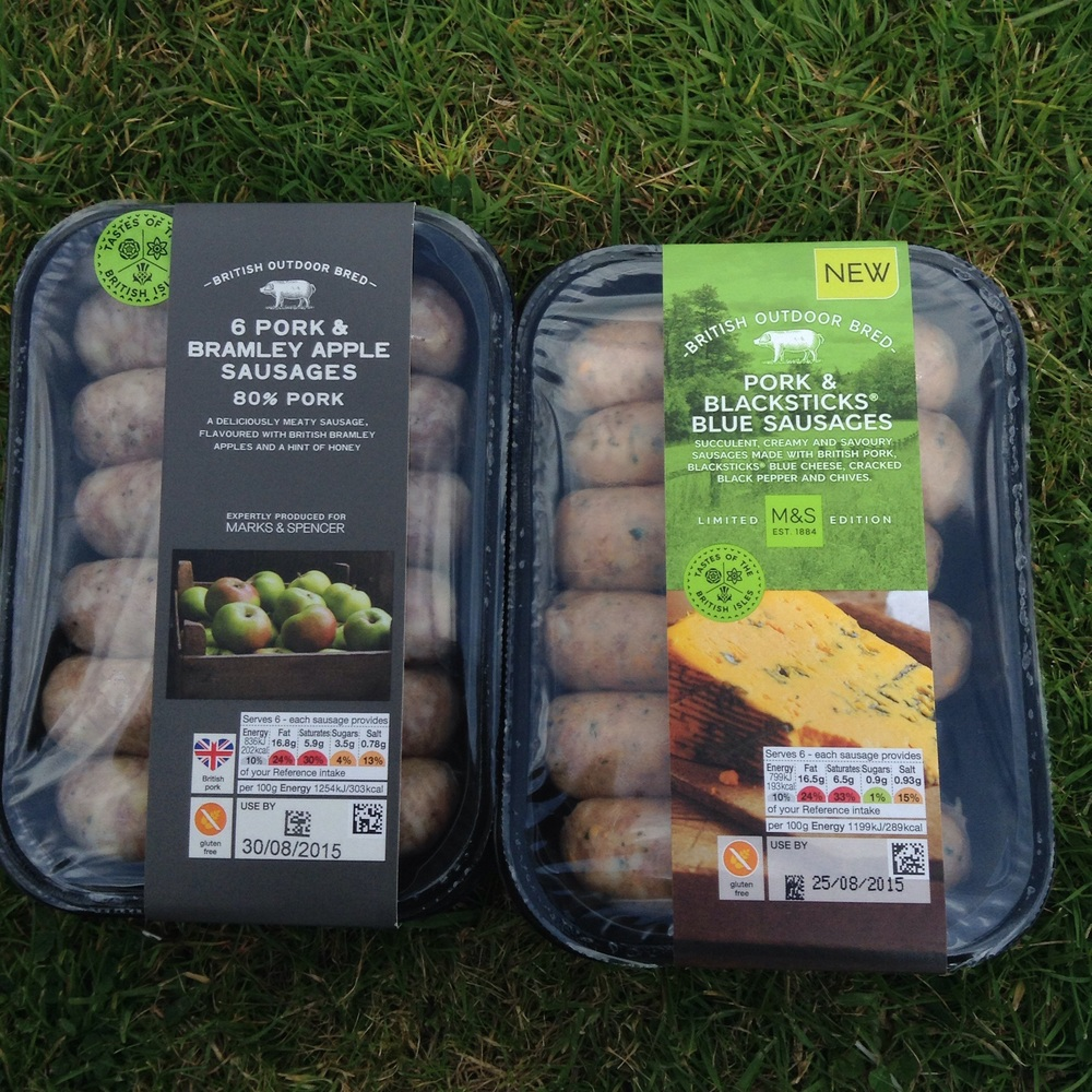 Tastes of the British Isles sausage are £3.50