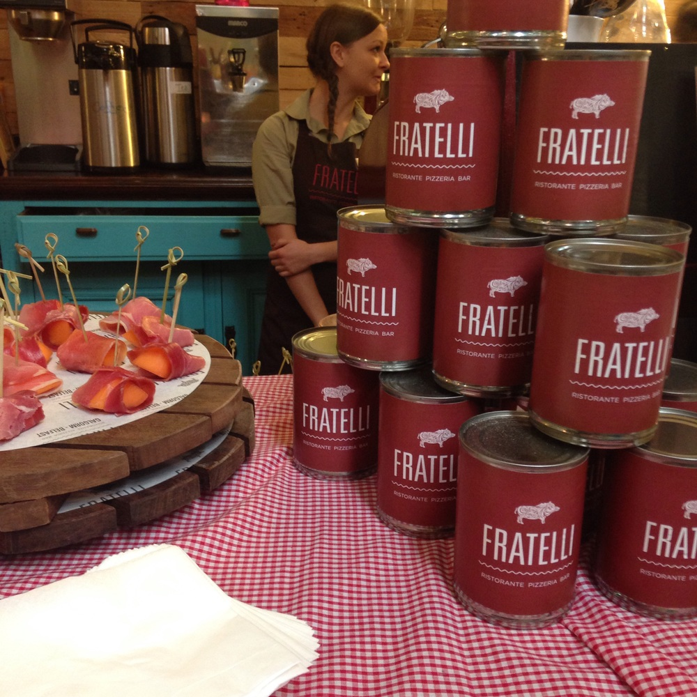 Fratelli nibbles were amazing
