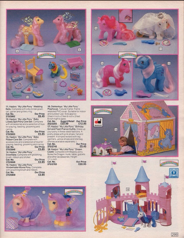 My Little Pony- I had the tent house