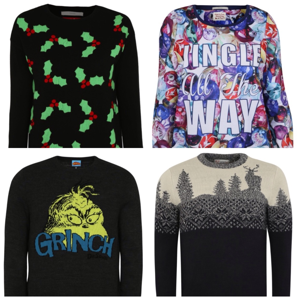 Adult Christmas jumpers
