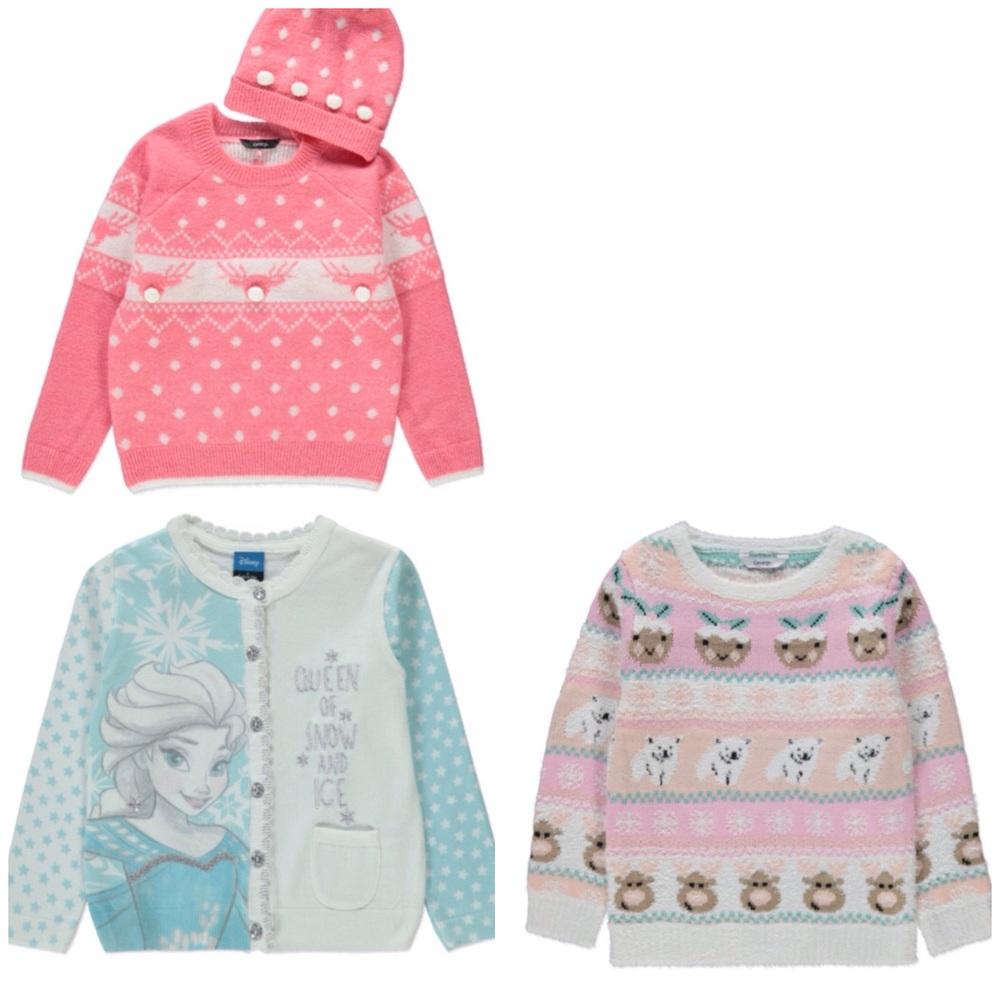 Little girls' knitwear