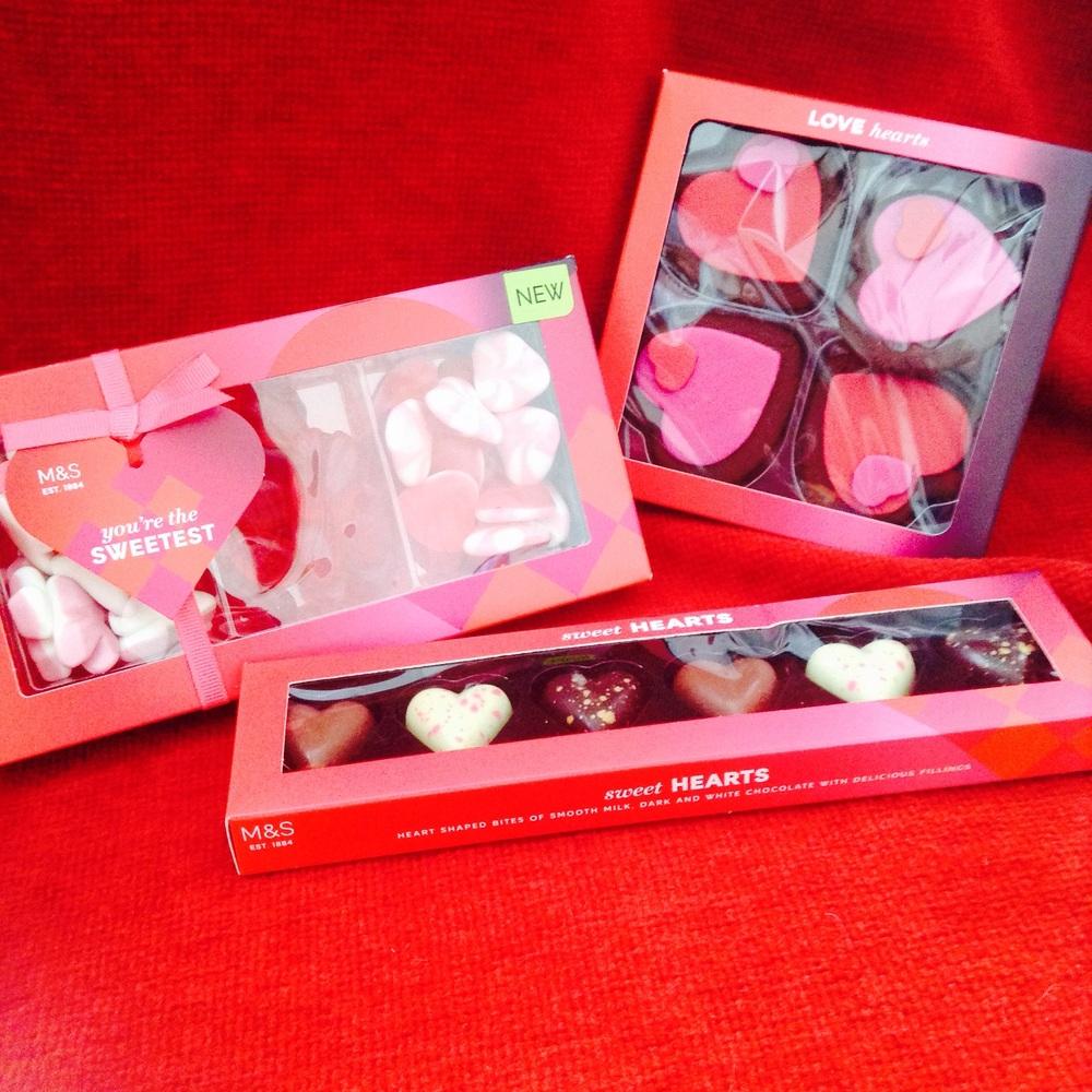 Jellies £3 : Sweet Hearts £1.50 : Love Hearts £3