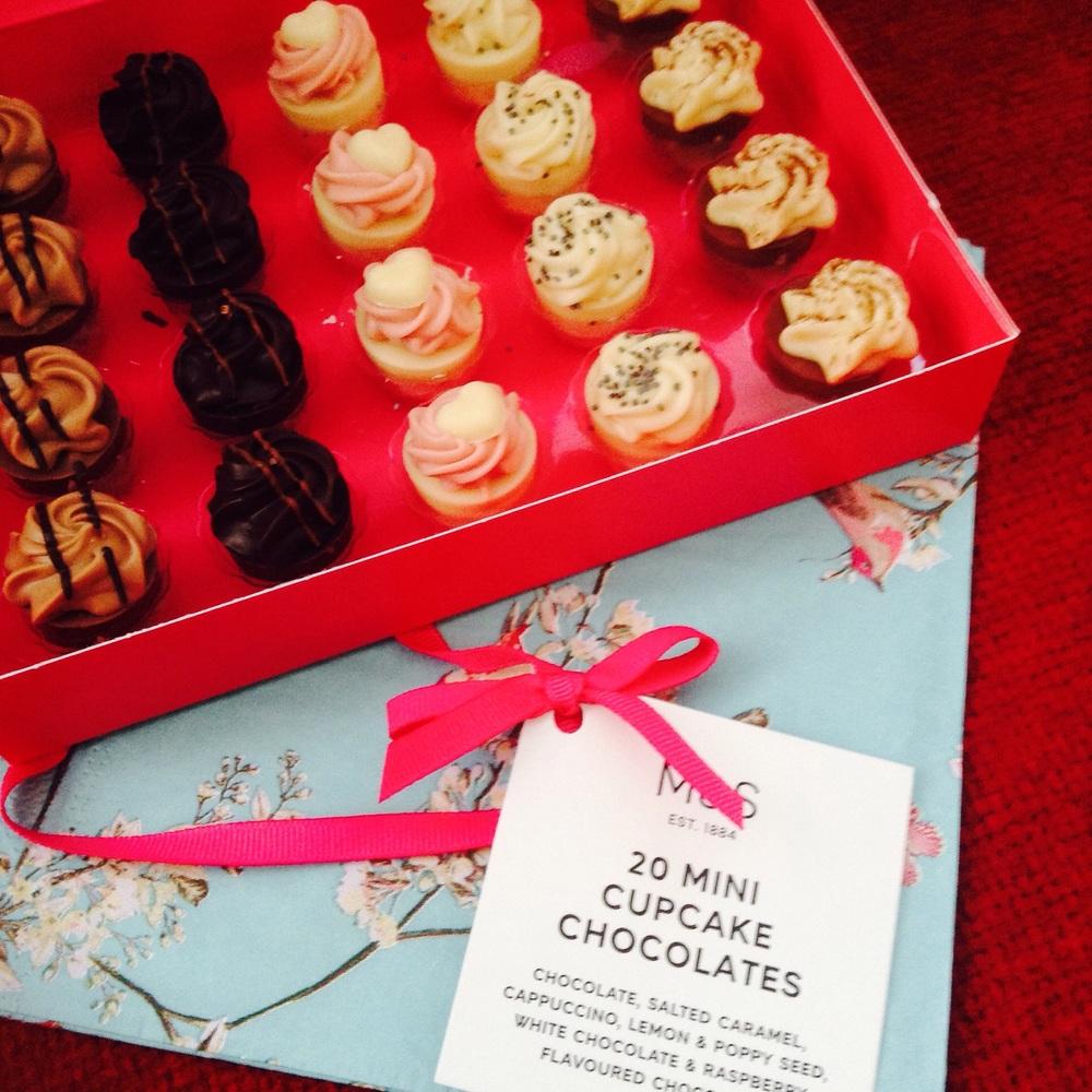 Cupcake chocs £8