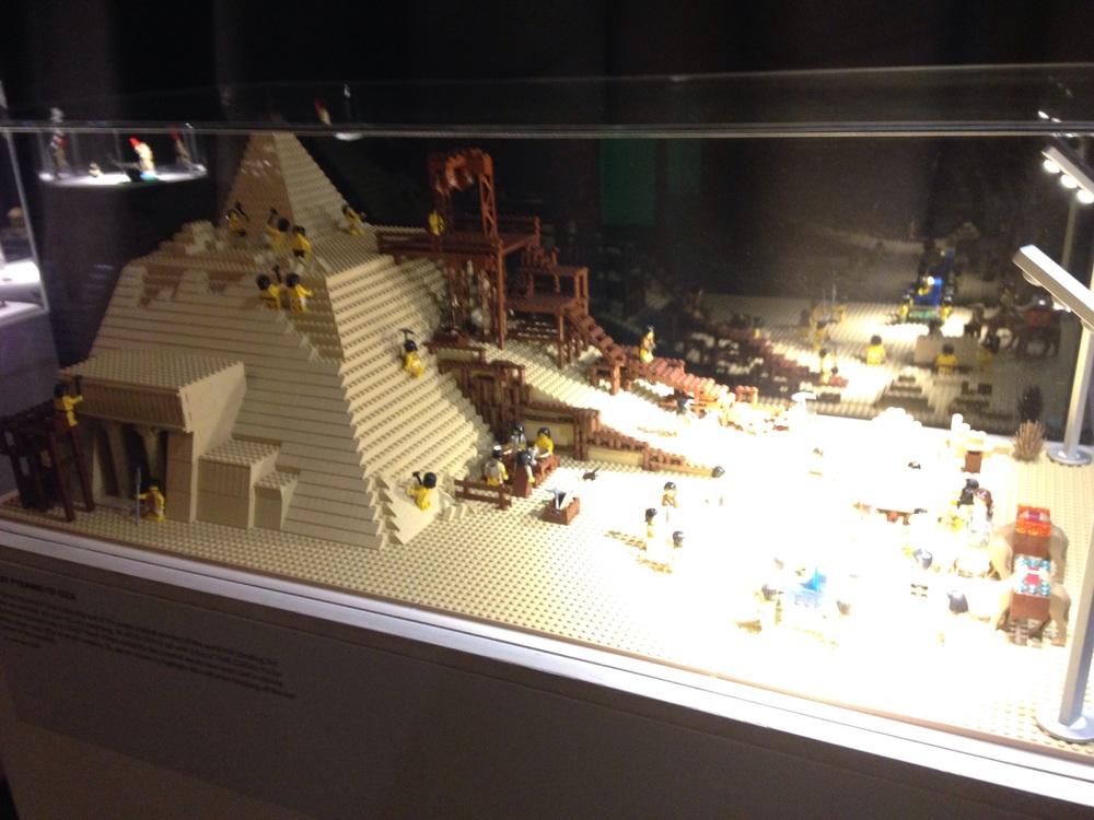 Pyramids (exhibits very hard to photograph!)