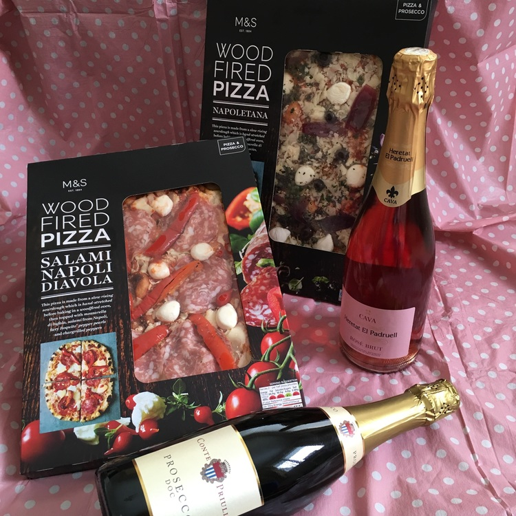 Pizza & Prosecco £10 Deal & a Summer of Sweets at M&S — The World of ...