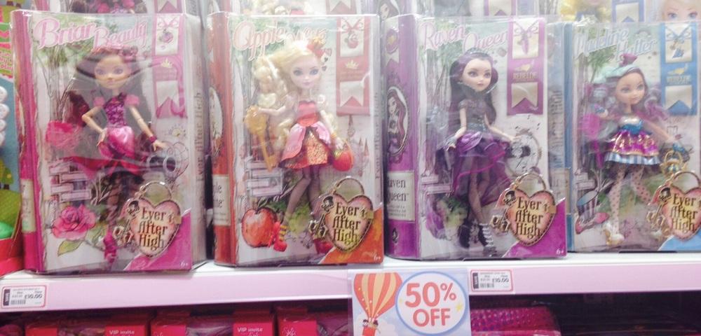 £10 Ever After dolls