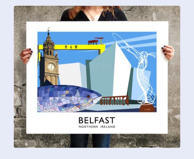 JS Kelly Belfast print