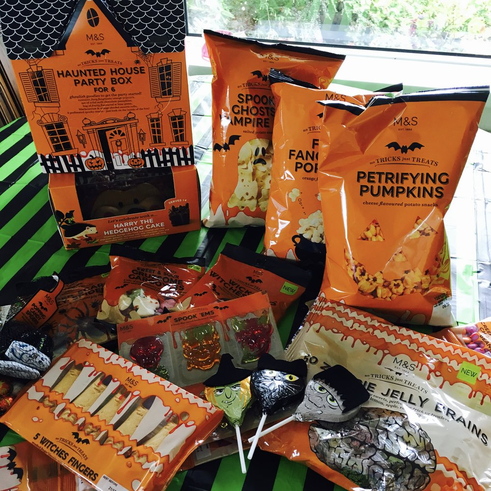 3 for 2 on all the Halloween goodies so youu0027ll have bucket loads & Halloween 2016 at Marks and Spencer- Spooky Treat Time In Store Now ...