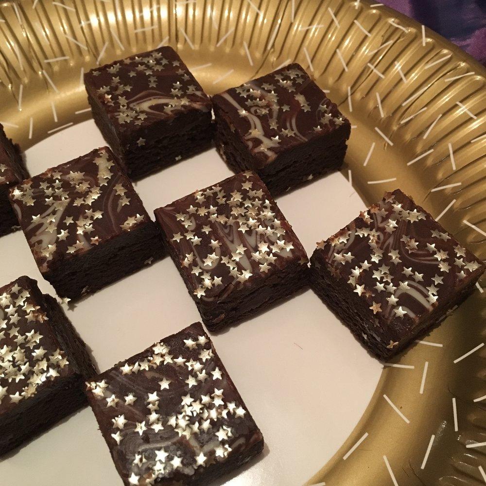 Brownie stars