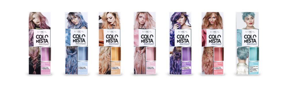 Instant Dan Tdm Hair L Oreal Colorista One Day Spray