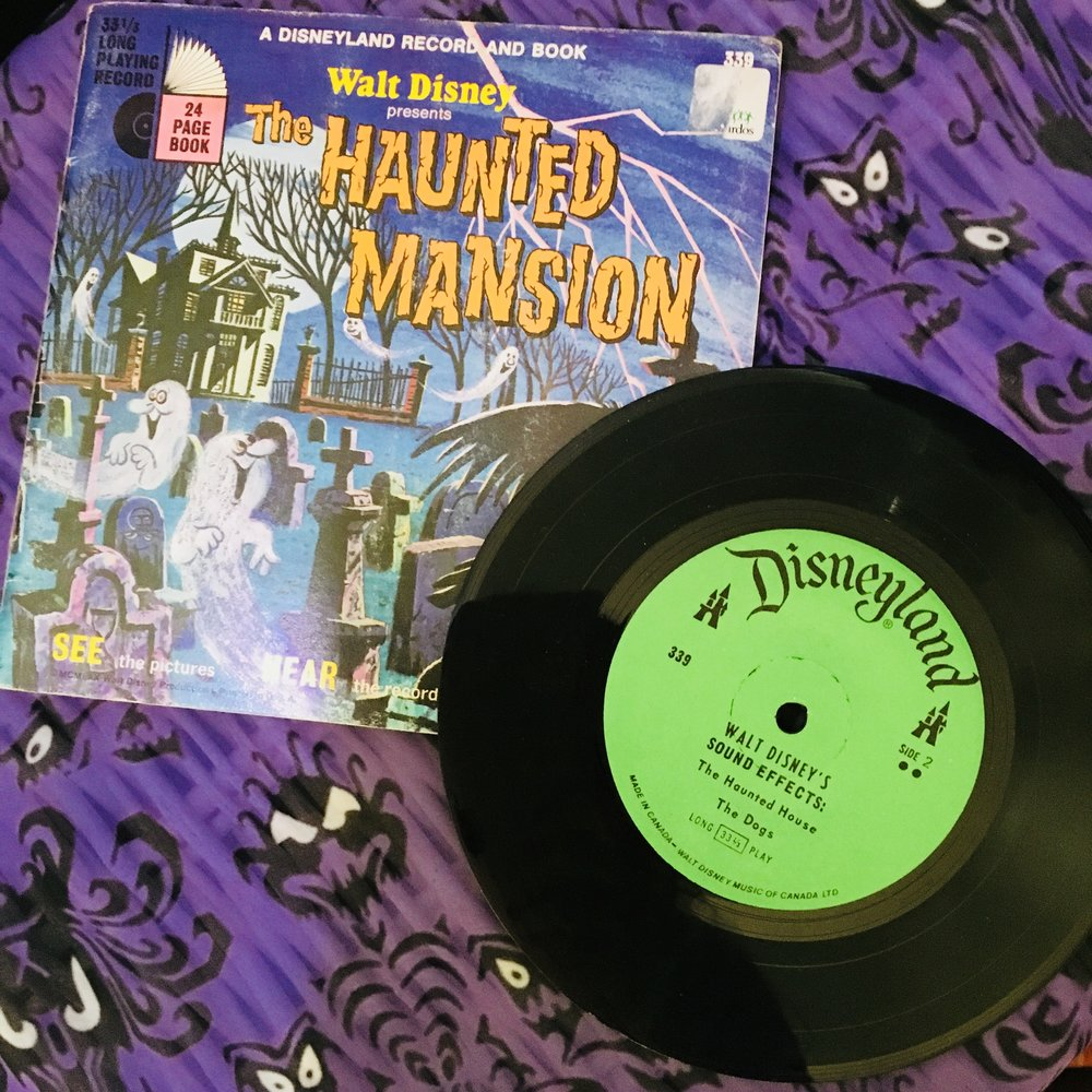 I picked this up for my Haunted Mansion Themed bedroom