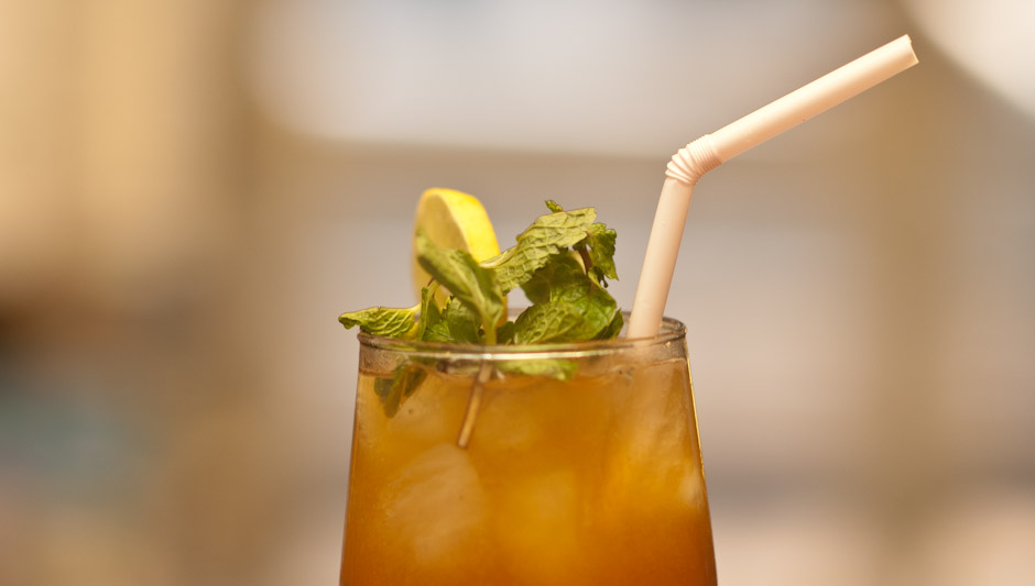 Café Turtle Mint Iced Tea