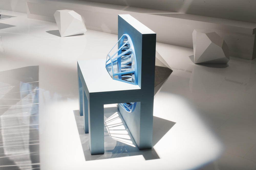 Exceptionnel Chair Lamp, 2012