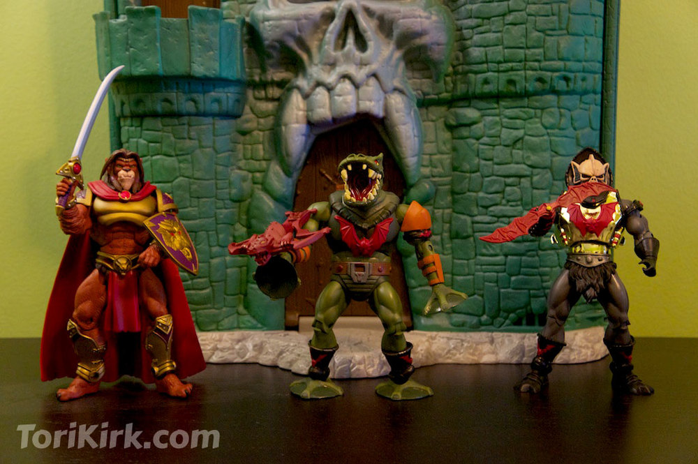 Chief Carnivus, Leech, and Hurricane Hordak