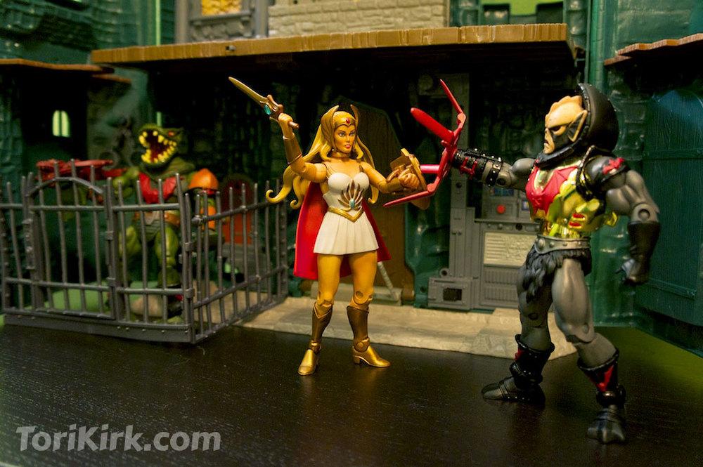 She-Ra battles Hordak