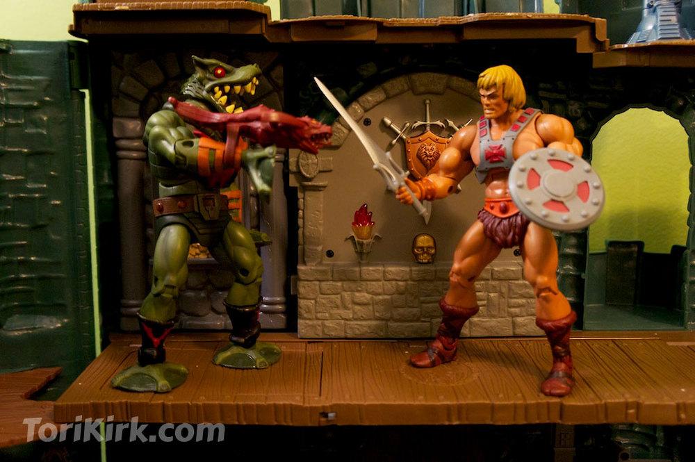 He-Man takes on Leech