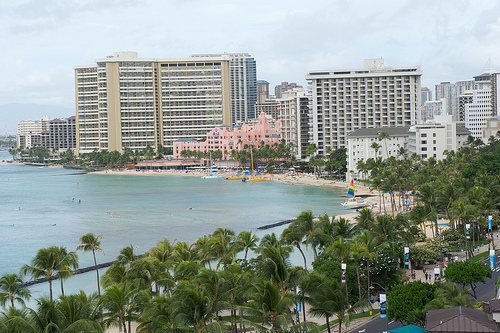 Waikiki Beach - Click to view more photos