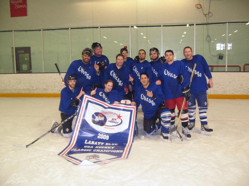 Labatt Blue - USA Hockey Tournament Champs